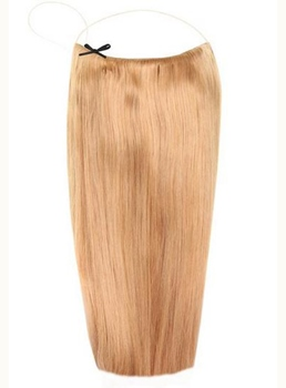 Light Golden Brown #16 Human Hair Flip In Hair Extension
