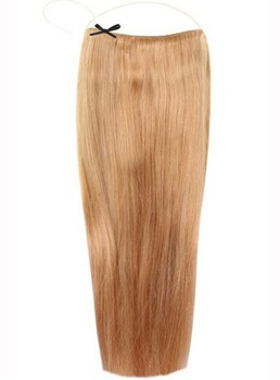 Strawberry Blonde #27 Smooth Straight 100% Human Hair Flip In Hair Extension