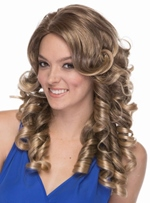 Elegant Fairy Long Curly Synthetic Hair Capless Wig 18 Inches