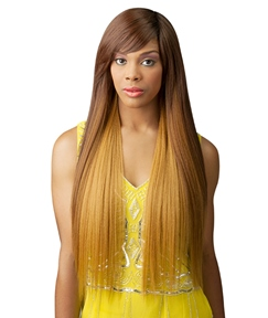 Top Quality Long Smooth Straight Capless Synthetic Hair Wig 30 Inches