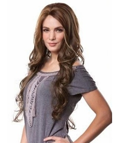 Beautiful Long Loose Wavy Synthetic Hair Wig 20 Inches