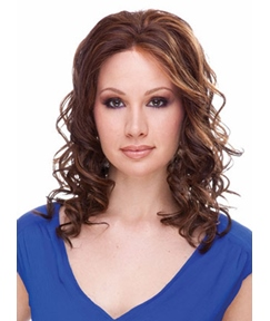 Attractive LOB Style Medium Wavy Synthetic Hair Capless 16 Inches Wig