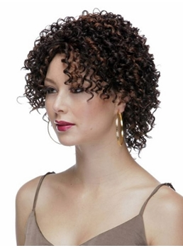 Sexy Short Curly 10 Inches Synthetic Hair Capless Wig