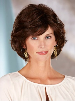 Beautiful Short Wavy Synthetic Hair Capless Wig 10 Inches