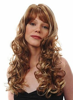Charming Long Big Wave Wig Synthetic Hair Capless 22 Inches