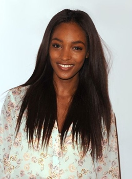 Jourdan Dunn Long Straight Lace Front Synthetic Hair Wig 22 Inches