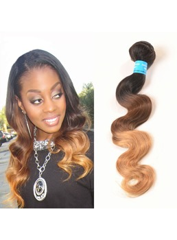 1B/33/27 3 Tone Ombre Virgin Human Hair Body Wave Weave 1 PC