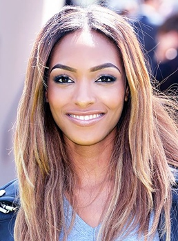 Jourdan Dunn Medium Straight Lace Front Synthetic Hair Wig 16 Inches