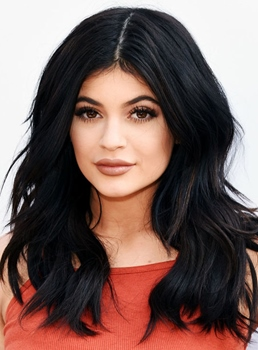 Kylie Jenner Long Wavy Lace Front Synthetic Hair Wig 18 Inches