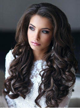 Elegant Long Big Wave Lace Front Cap 24 Inches Synthetic Hair Wig