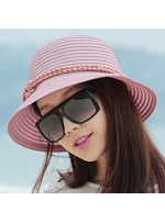 Braided Rope Decoration UV-protection Sun Hat