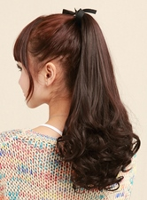 Super Sweet Long Loose Wave Smooth Synthetic Ponytail