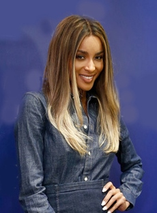 Ciara Long Straight Lace Front Synthetic Hair Wigs 20 Inches