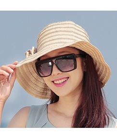 Korea Style Foldable UV Protection Flower Sun Hat