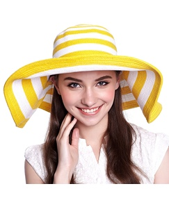 Bright Colors Stripe Women's Sun Hat