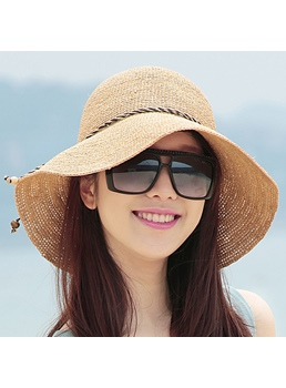 Top Quality Fashion Big Visor Ultraviolet-proof Sun Hat