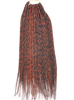 1B/33# Rope Twist Braid for Black Women