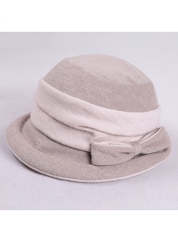 Round Brim Uv Protection Jacquard Sun Hat