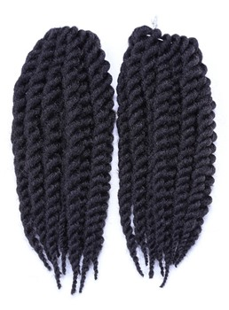 Rope Twist Braid for African American Wigs 12 Inches