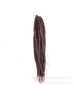 99J African American Rope Twist Braid 18 Inches