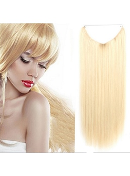 Hot Sale Straight 100% Human Hair Flip In Hair Extension 16 Inches-26 Inches