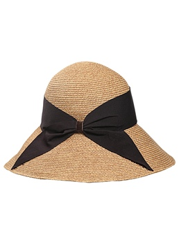 Korea Style Big Brim Bow Sun Hat