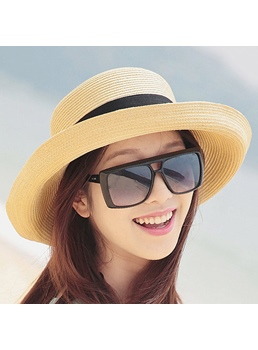 Foldable Korean Style Bow Sun Hat