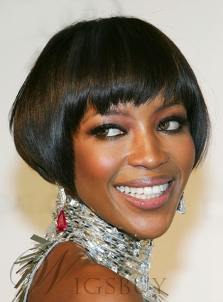 Cute Short Bob Straight Capless Synthetic Hair Wig 8 Inches 11648513