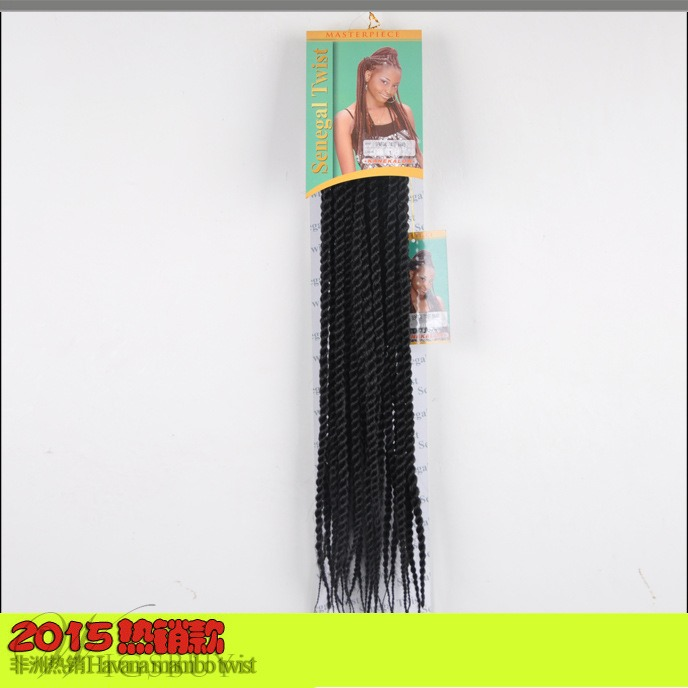 African American SenegaleseTwist Braid 18 Inches