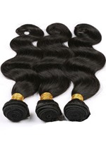 6A Grade High Quality Body Wave Human Hair Weave 1 PC