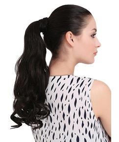 Hot Sale Long Natural Wave Synthetic Ponytail