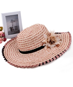 Graceful Cotton with Beautiful Flower Women Hat