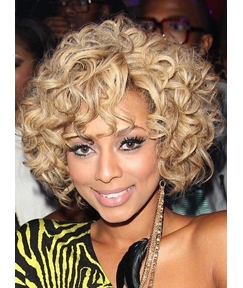 New Arrival Medium Curly Capless Human Hair Wig 12 Inches