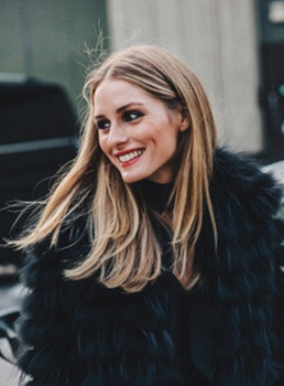 Olivia Palermo Long Straight Synthetic Hair Lace Front Wigs