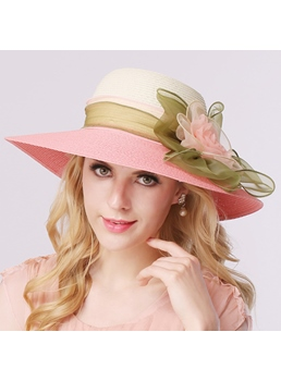 Charming Dome Bow Women Beach Hat