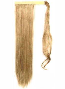 Charming Long Straight Blonde Synthetic Ponytail