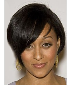 Tia Mowry Short Straight Capless Synthetic Hair Wig 10 Inches