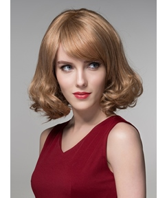 Mishair® Lovely Short BOB Human Hair Capless Wig 10 Inches