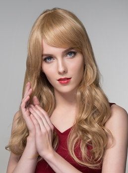 Mishair® Long Straight Human Hair Wigs 24 Inches