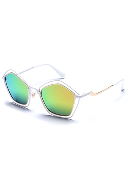 Round Pentagram Hollow Sunglasses