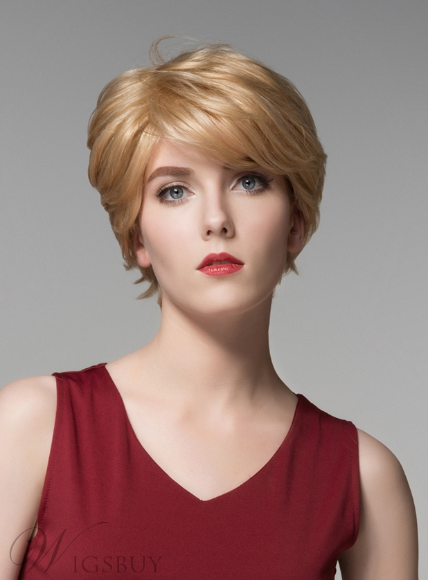 Mishair® New Arrival Short Straight Capless Human Hair Wig 6 Inches 11680786