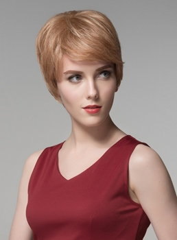 Mishair® Good Quality 100% Human Hair Capless Wig 6 Inches