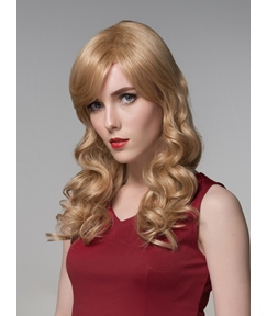 Mishair® Attractive Long Romantic Wave Capless Human Hair 22 Inches