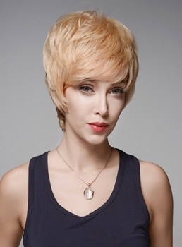 Mishair® Hot Sale Short Straight Human Hair Capless Wig 6 Inches