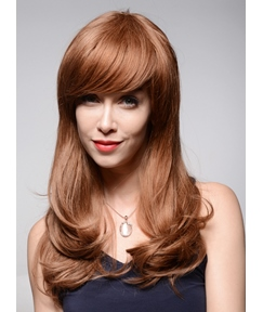 Mishair® Beautiful Loose Wavy Short Human Hair Capless Wigs 22 Inches