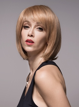 Mishair® BOB Charming Human Hair Capless Wig 12 Inches