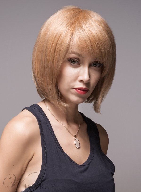Mishair? BOB Charming Human Hair Capless Wig 12 Inches 11987537