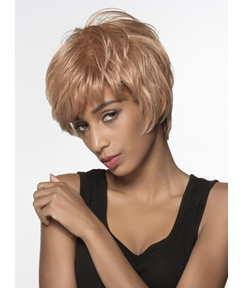 Mishair® Hot Short Straight Capless Human Hair Wig 6 Inches