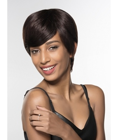 Mishair® Top Quality Short Capless 100% Human Hair Wig 6 Inches