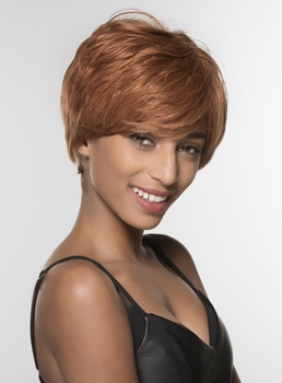 Mishair® Top Quality Short Human Hair Capless Wigs 6 Inches